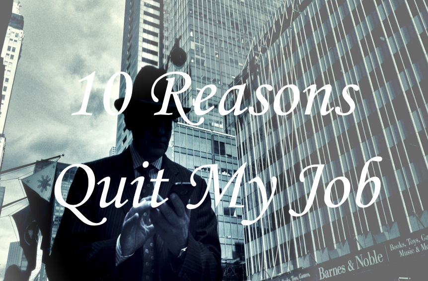 銀行員を辞めたい銀行員へ贈る!僕が銀行員を辞めた10の理由!