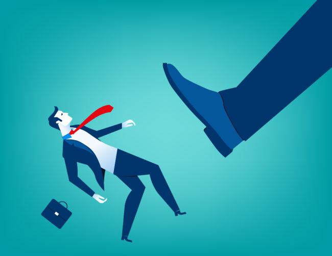 サラリーマンにおすすめしない副業のイメージ図です。