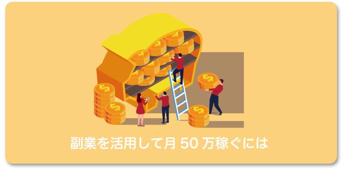 サラリーマン副業禁止は無視せよ!月50万稼ぐための5ステップ!