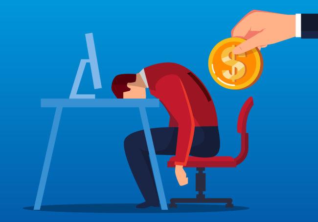 仕事のモチベーションが上がらない場合、副業で適性を判断することをオススメする画像。