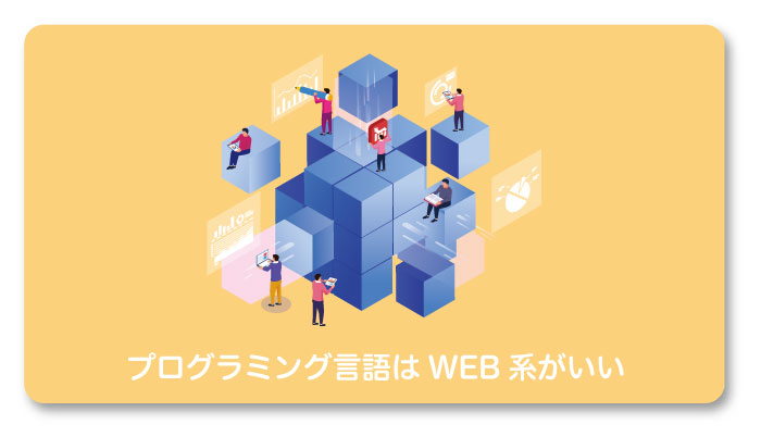 初心者におすすめのプログラミング言語はWeb系?