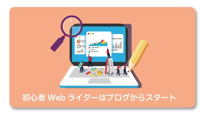 初心者Webライターはブログから始めよう!